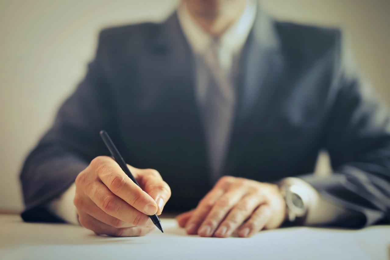 Anwalt auf Kundenfang